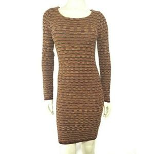 Alice + Olivia Wool Cashmere Sweater Dress